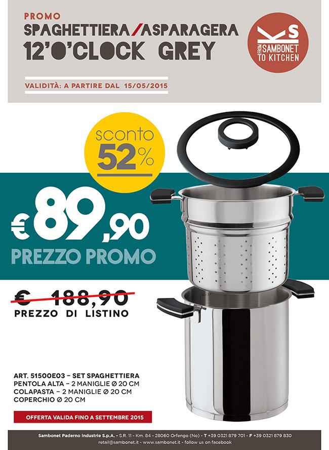 Spaghettiera Promo